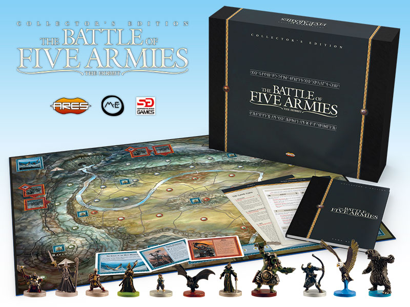 Battle Of The Five Armies Collector's Edition - Ares Games