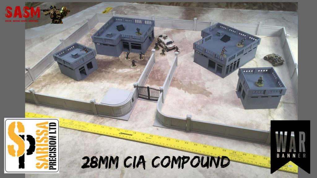 CIA Compound - War Banner