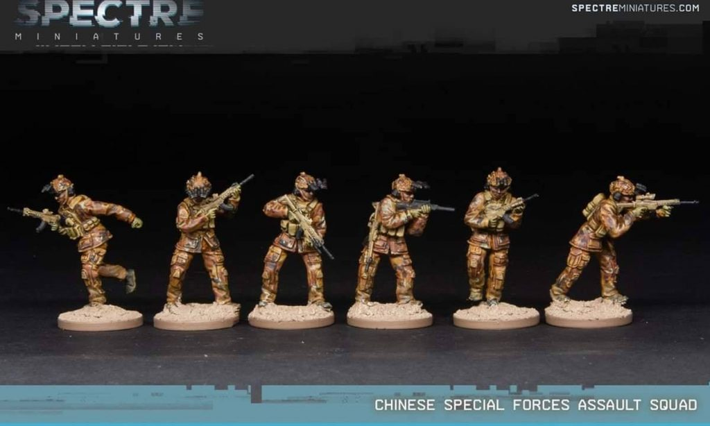 Chinese Special Forces Assault Squad - Spectre