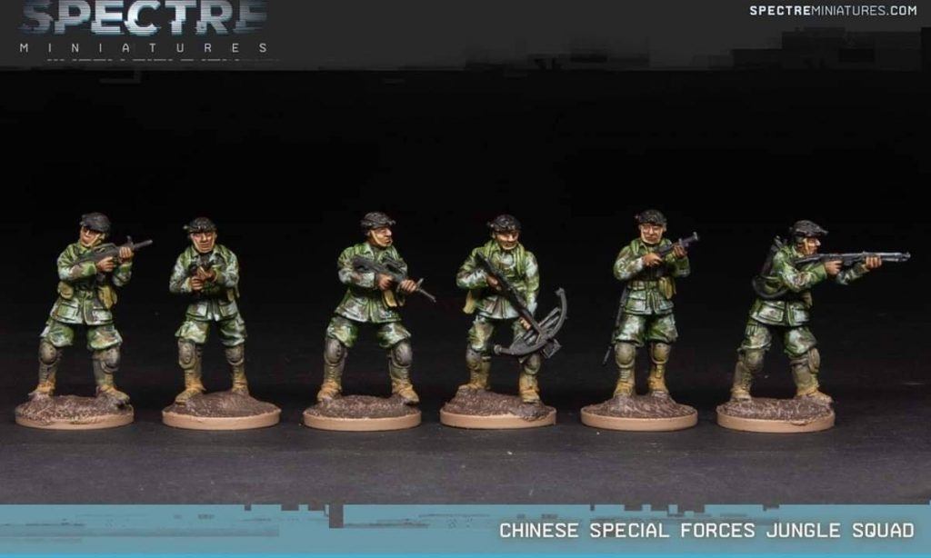 Chinese Special Forces Jungle Squad - Spectre