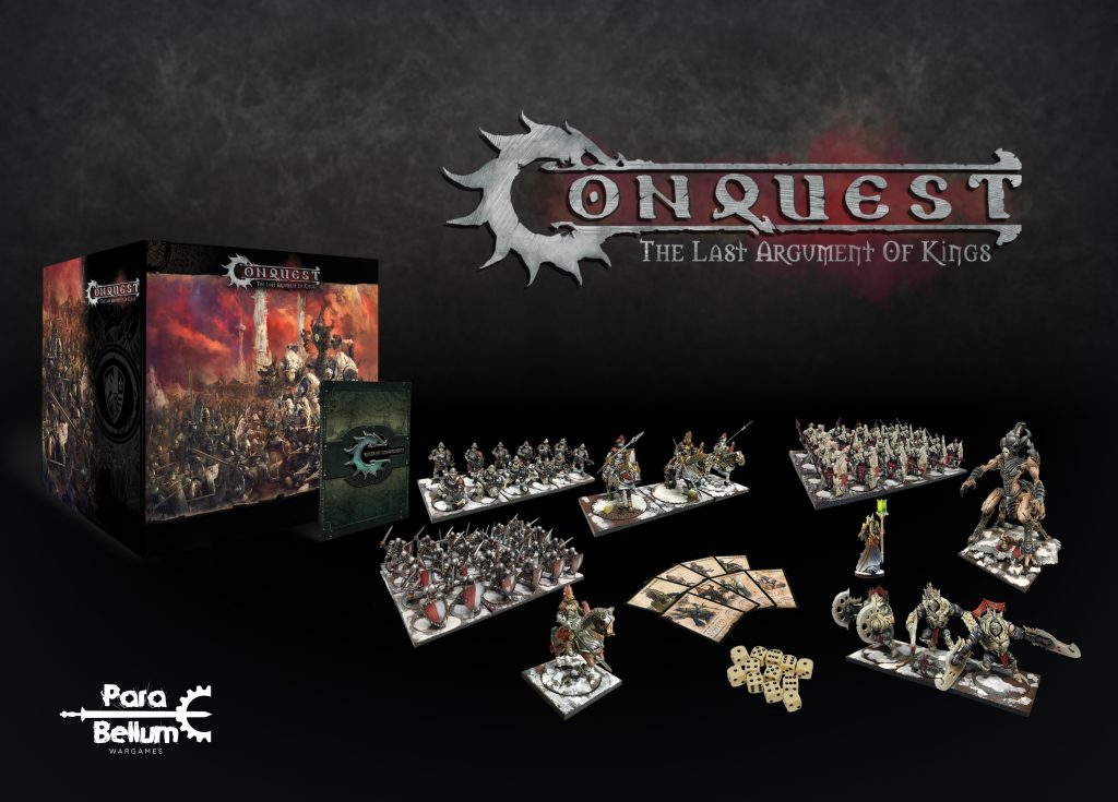 Conquest Starter Box Contents - Para Bellum Wargames