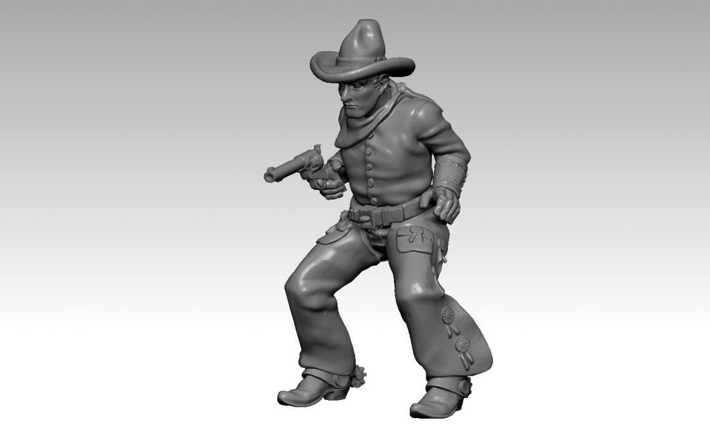 Dallas Jim - Knuckleduster Miniatures