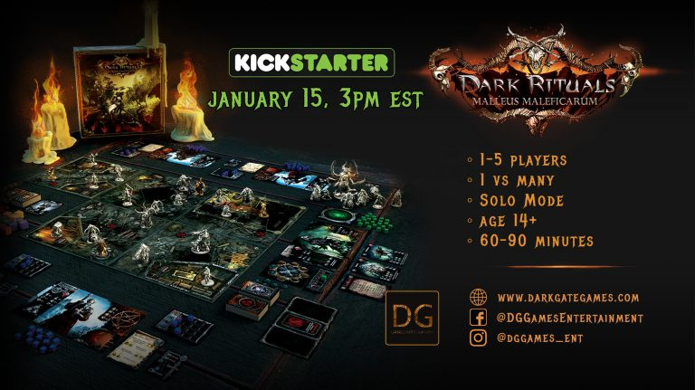 Dark Rituals Kickstarter - DG Games Entertainment