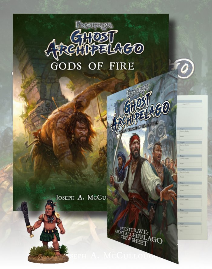 Frostgrave Ghost Archipelago Gods Of Fire - North Star