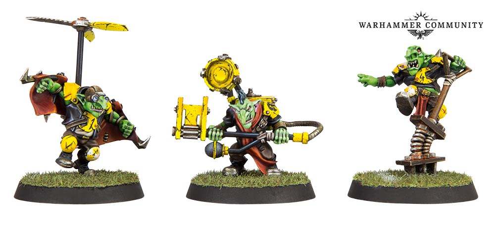 Goblin Contraptions - Games Workshop