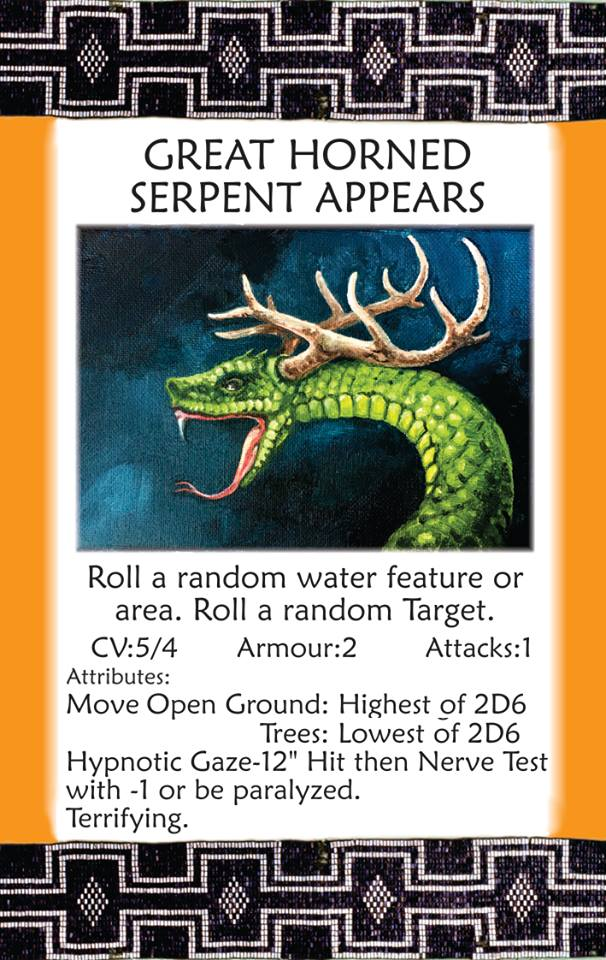 Great Horned Serpant