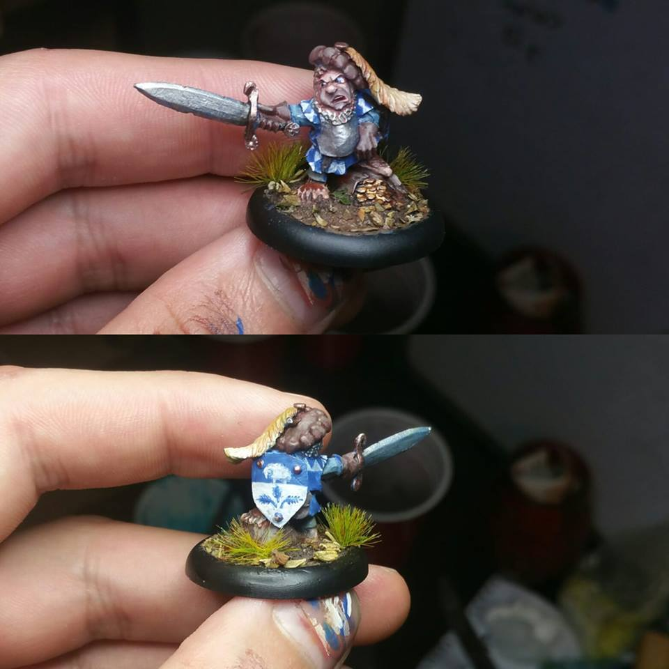Halfling Sheriff - Warploque Miniatures