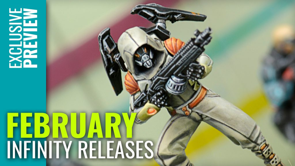 Sneek Peek For Infinity's New February Releases