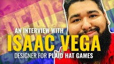 Behind The Board Games: Isaac Vega Of Plaid Hat Games