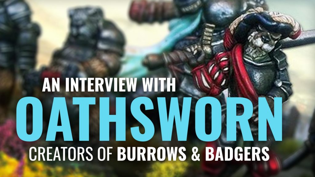 Behind The Wargame: Michael & Jo Of Oathsworn Miniatures