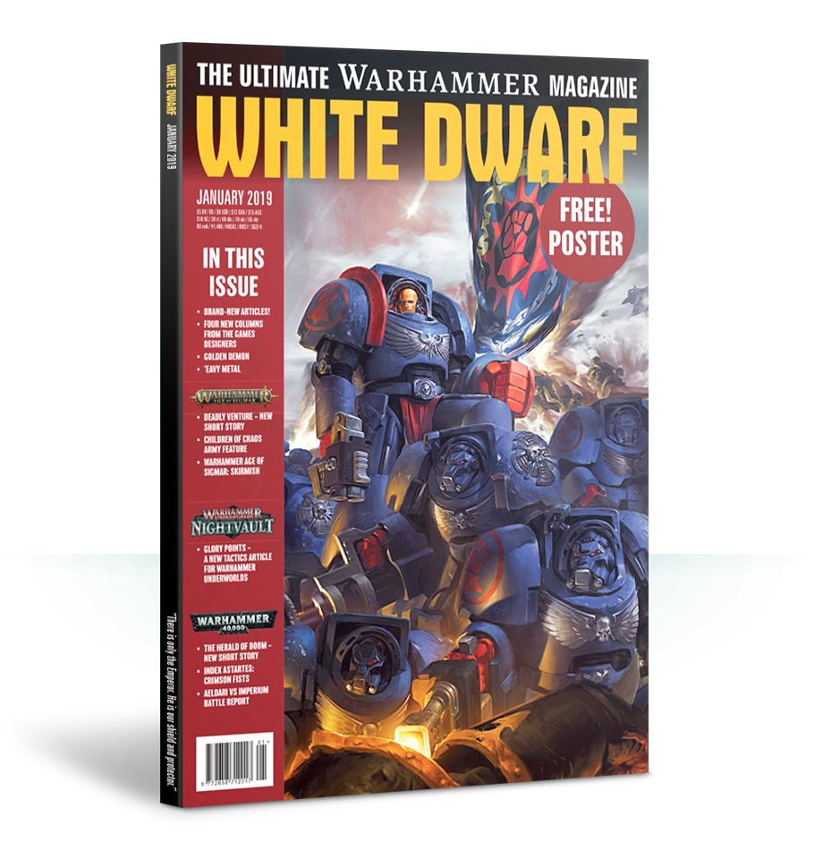 January 2019 White Dwarf - Games Workshop
