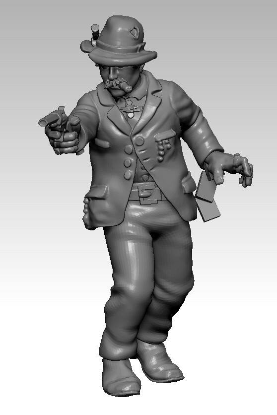 Johnny Deuce - Knuckleduster Miniatures