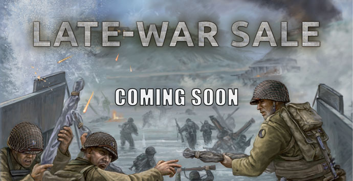 Late-War Sale - Battlefront Miniatures