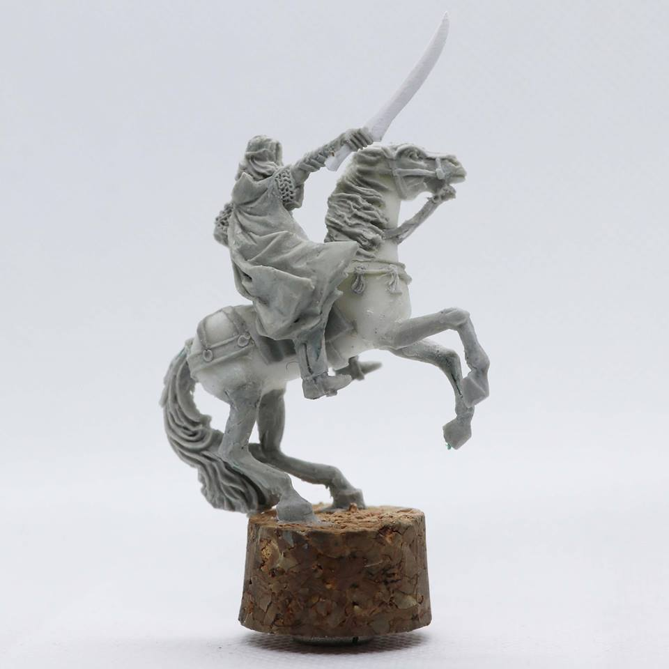 Lord Of Noble Elves 2 (Rear) - Unreleased Miniatures