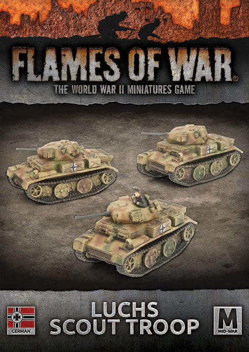 Luchs Scout Troop - Flames Of War