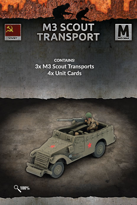 M3 Scout Transport - Flames Of War