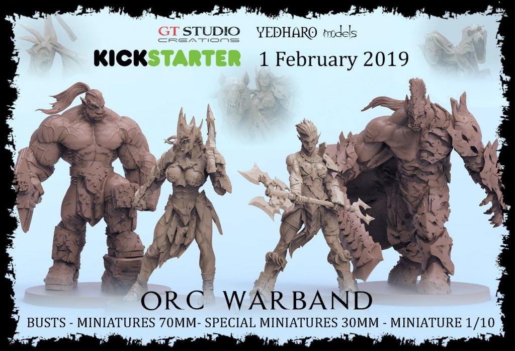 Orc Warband - GT Studio Creations