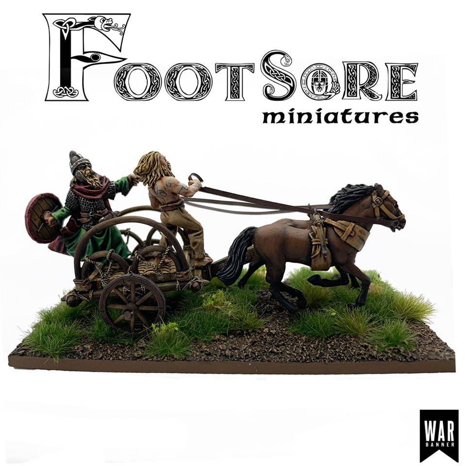 Pict Warlord Chariot #1 - Footsore Miniatures
