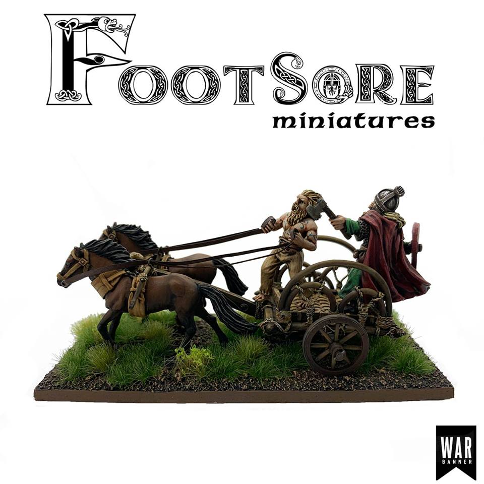 Pict Warlord Chariot #2 - Footsore Miniatures