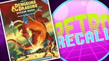 Retro Recall: D&D Choose Your Own Adventure Sticker Book