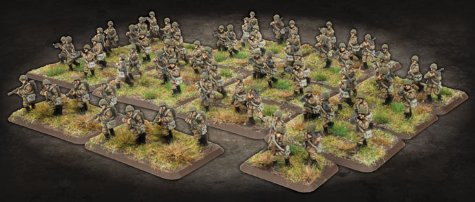SMG Company - Flames Of War