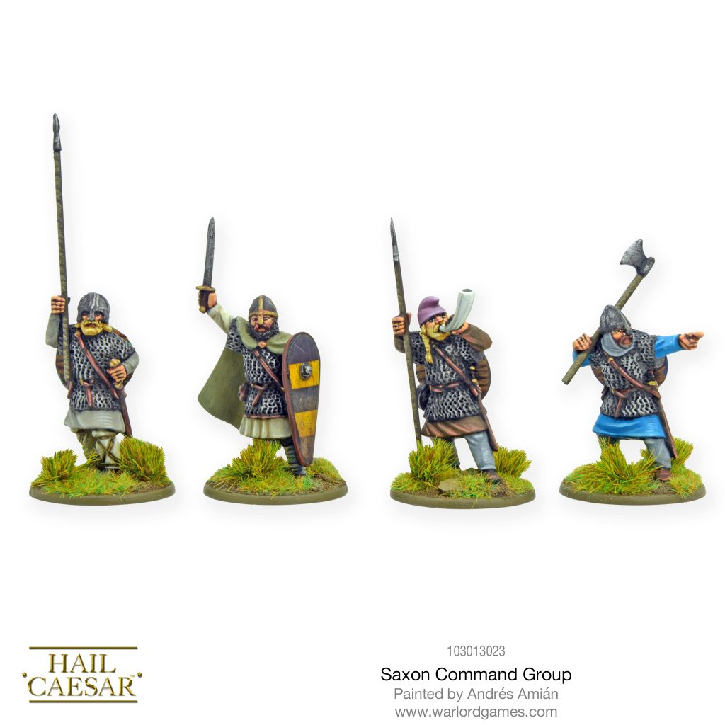 Saxon Command Group - Warlord Games