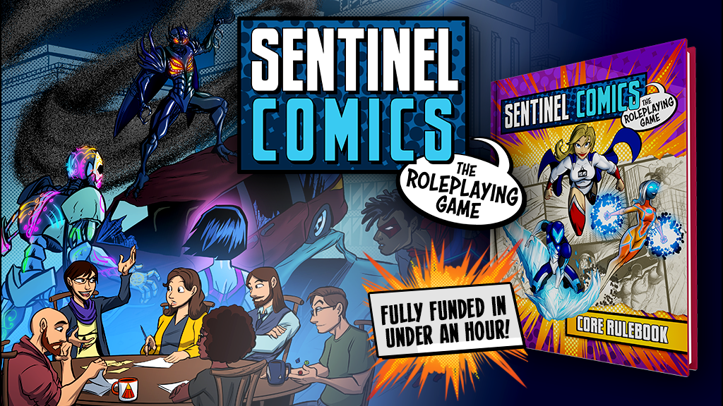 Sentinel Comics The Role-Playing Game - Greater Than Games