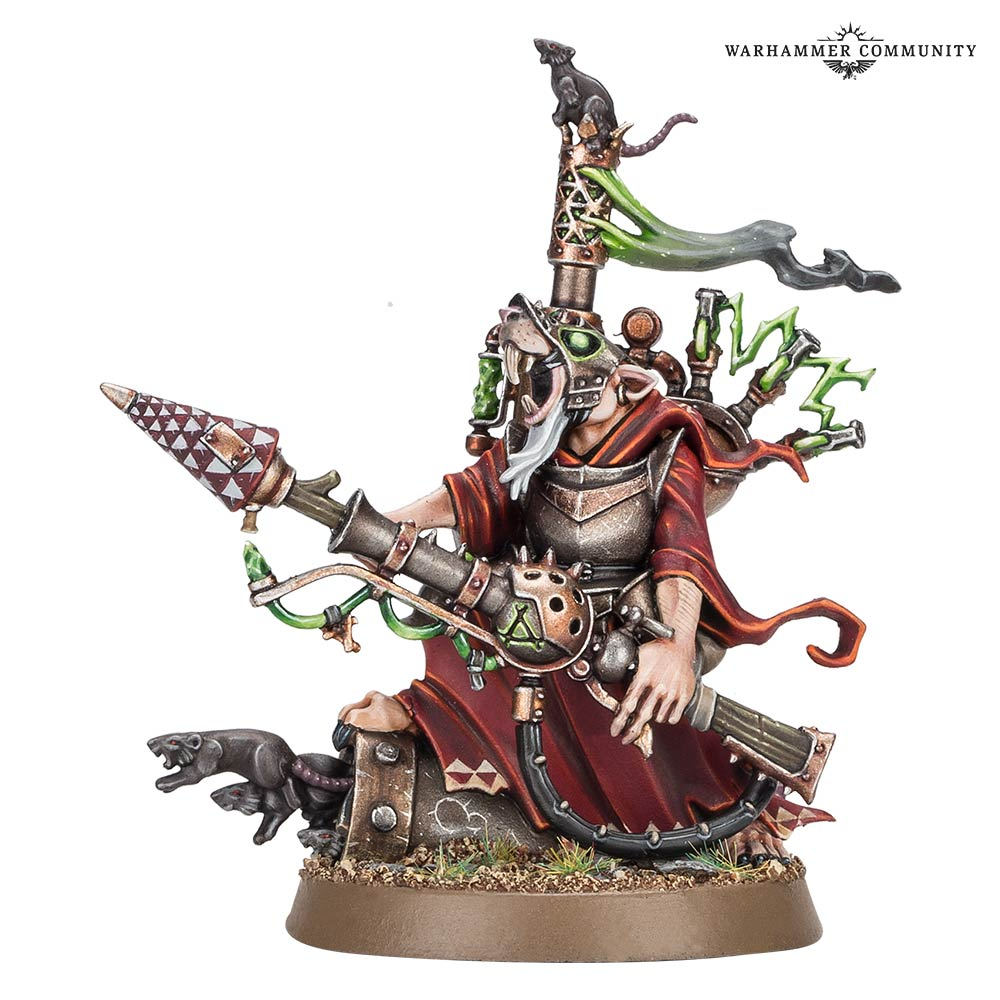 Skaven Warlock - Games Workshop