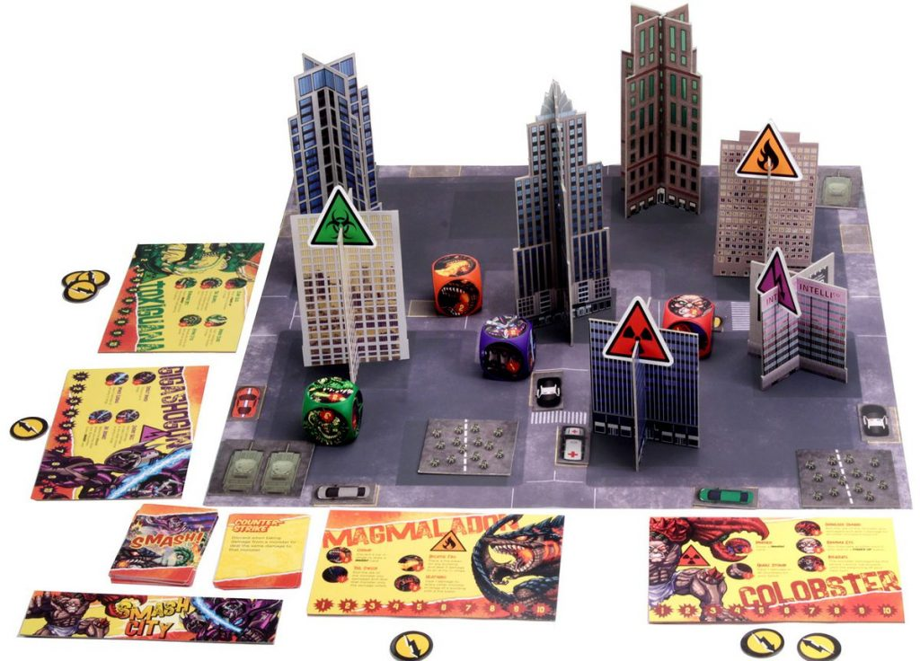 Smash City Board - WizKids