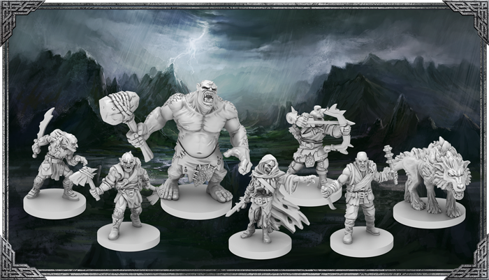 The Lord Of The Rings Journeys In Middle-earth (Enemy Miniatures) - FFG
