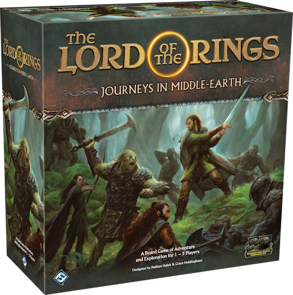 The Lord Of The Rings Journeys In Middle-earth - FFG