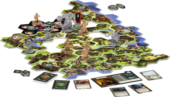 The Lord Of The Rings Journeys In Middle-earth (Layout) - FFG