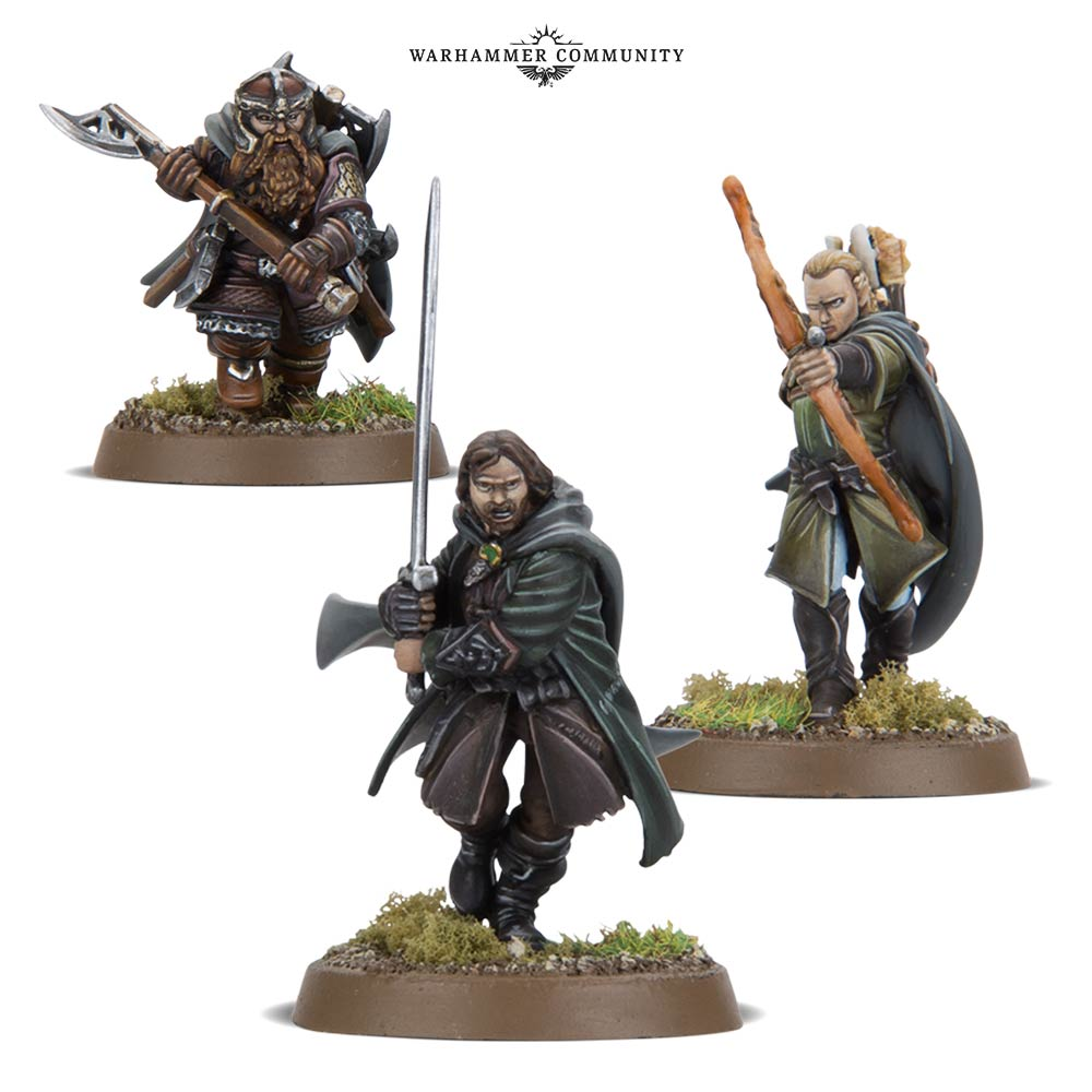 Three Hunters - Games Workshop