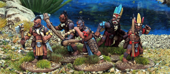 Tribals Painted - North Star