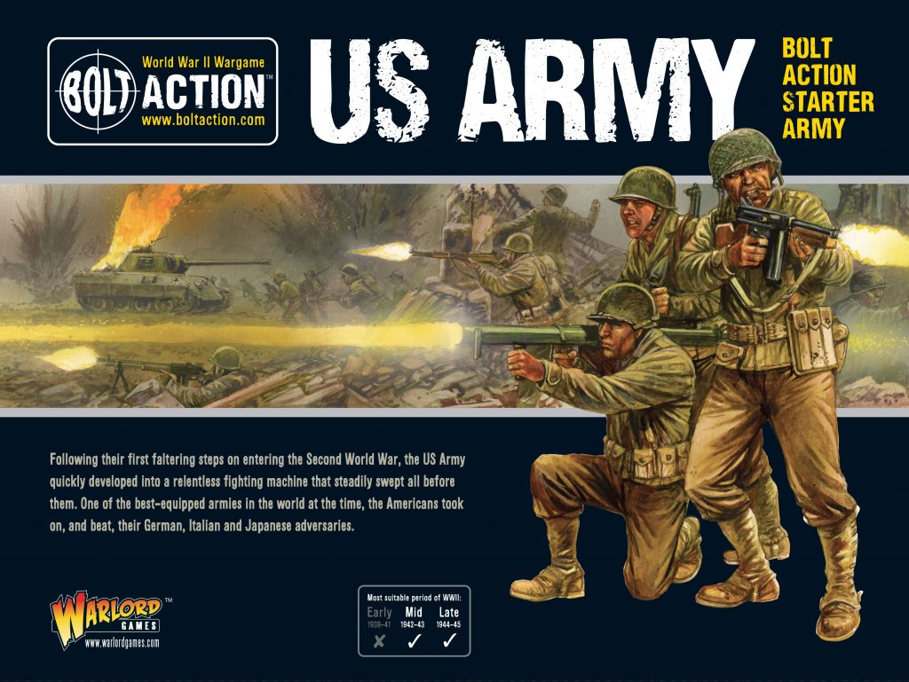 US Army Bolt Action Starter Set - Warlord Games