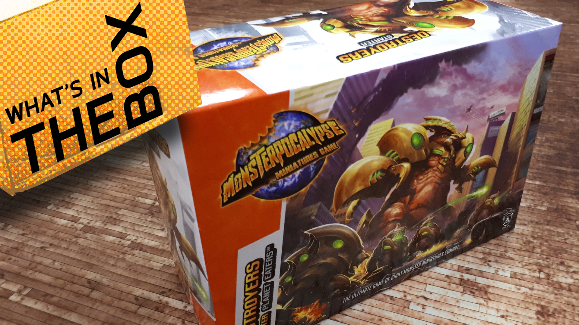 What's In The Box: Monsterpocalypse Buildings