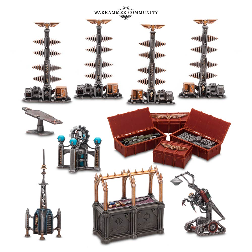 Urban Conquest Objectives - Games Workshop
