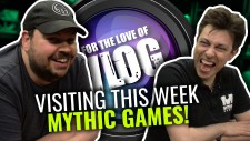 Vlog: Mythic Visit The Studios & Lloyd's Hobby Shelving Dream