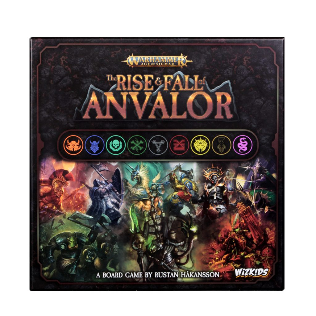 Warhammer Age of Sigmar The Rise and Fall of Anvalor Box Art - WizKids
