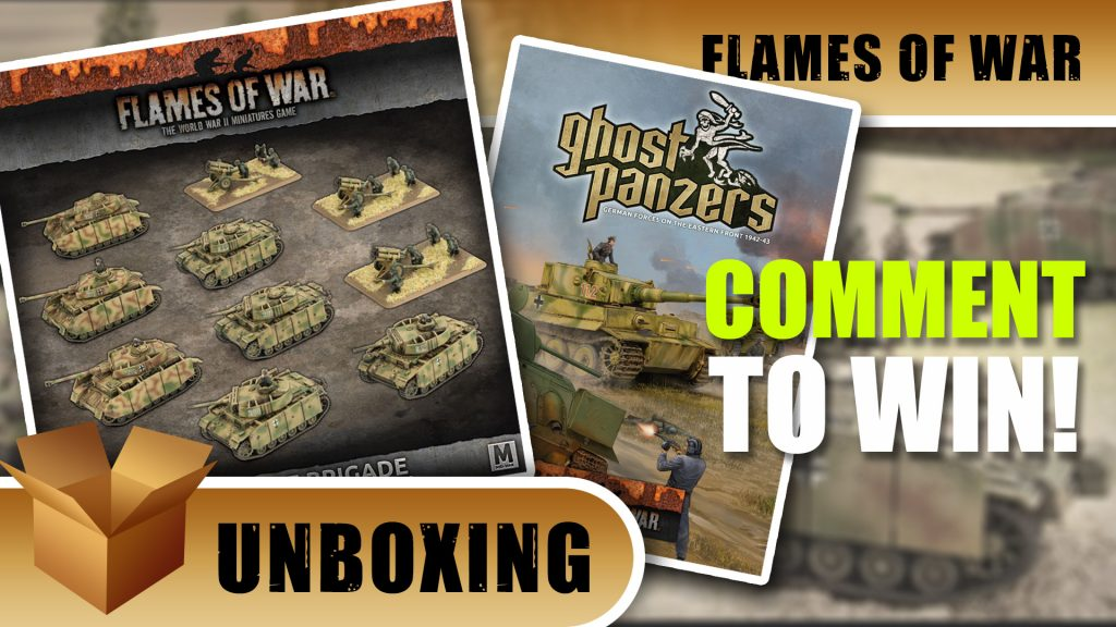 Flames of War Unboxing: Bäke's Fire Brigade & Ghost Panzers Book