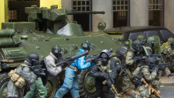 Watch Over Infantry With The BTR82a From Spectre Miniatures