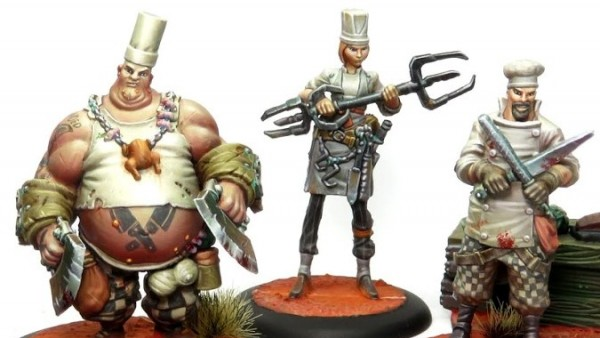 Studio Giraldez Shows Off Fully Painted Cook's Guild For Guild Ball