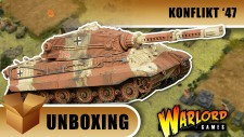 Konflikt '47 Unboxing: German King Tiger X