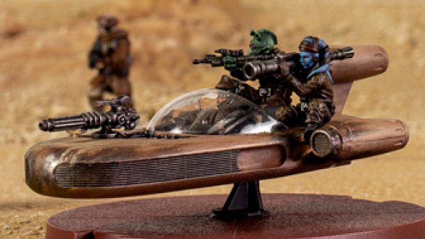 Stolen Speeders & Heavy Hitting Tanks For Star Wars: Legion