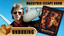 Unboxing: MacGyver The Escape Room Game