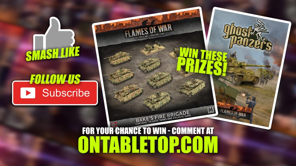 Flames of War Unboxing: Bäke's Fire Brigade & Ghost Panzers Book Prizes