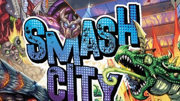 Crush Your Foes As Mighty Monsters In WizKids' Smash City