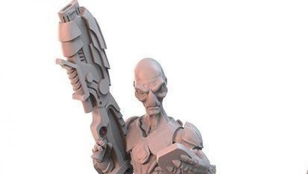 Gigantic Guns In New Wild West Exodus Grey Miniatures
