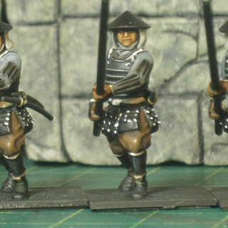 20 Ashigaru finished over the weekend.