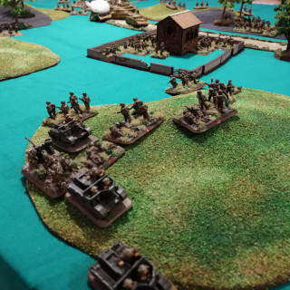 Anzio - Second Table Top Battle Report (Turns 4 and 5)